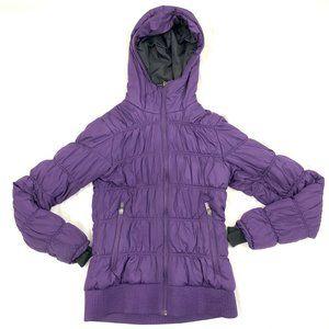 Columbia Omni Heat Insulated Purple Winter Jacket